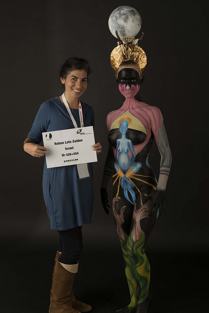 SWISS BODYPAINTING ART FESTIVAL, LUGANO 2013- 12 place