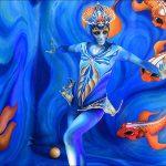 אש במים- מופע חוצות, מקום 3 בפסטיבל הבינל' לפסלים חיים 2016