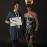 מקום 12 בתחרות ציורי גוף, שוויץ 2013
