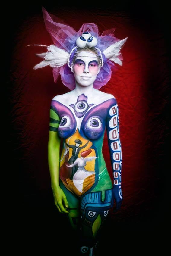 מקום 9 תחרות ציורי גוף, ביוטי פורום, גרמניה 2014