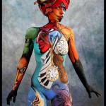 FIRST PRIZE in the Israeli Bodypainting Festival, TLV 2012