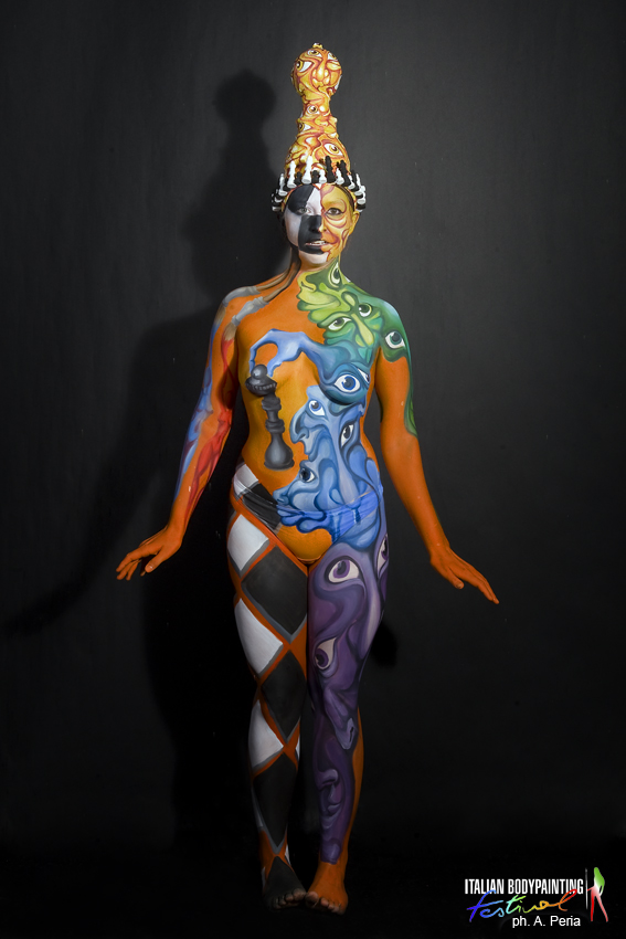 ITALIAN BODYPAINTING FESTIVAL 2013 – 5th place