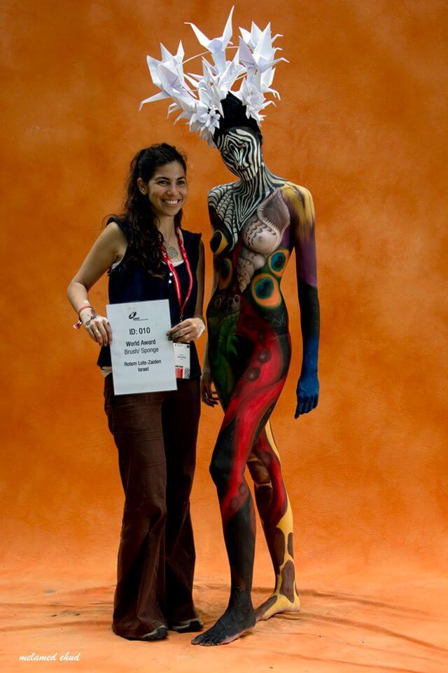 מקום 10 באליפות העולם בציורי גוף WBF אוסטריה 2013