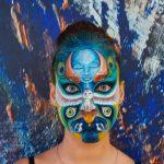 ציור פנים וראיון בתוכנית הבוקר 'העולם הבוקר' בערוץ 13